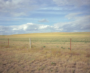 Fence, Grassy Butte, North Dakota  1997